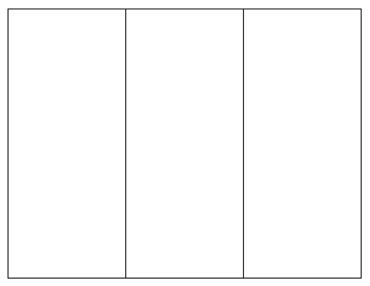 Blank Pamphlet Template printable blank brochure trifold blank – Blank Brochure Template