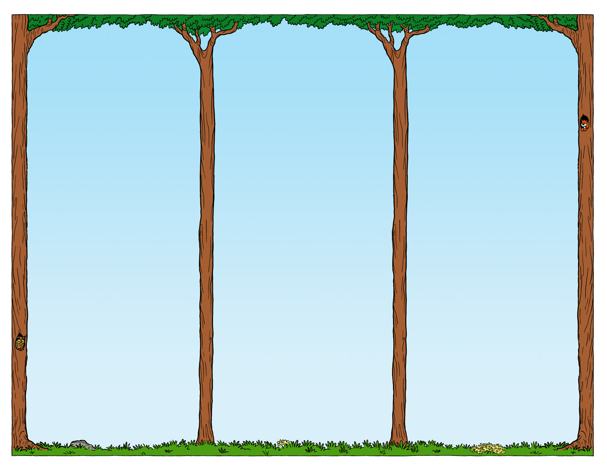 Brochure Template Trees