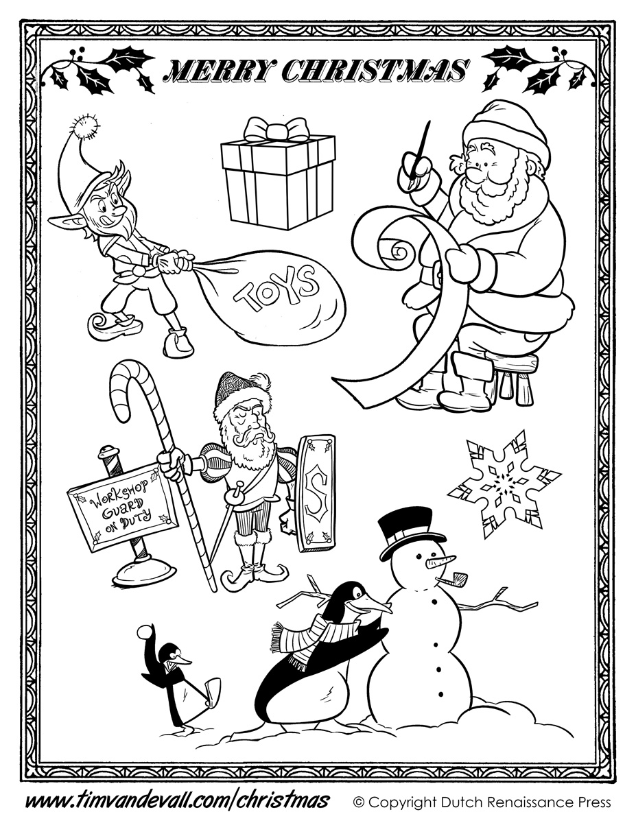 Printable Christmas Cut Outs