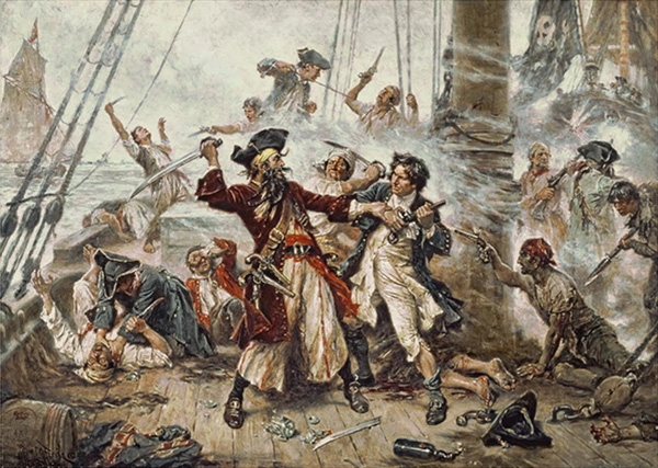 death of blackbeard