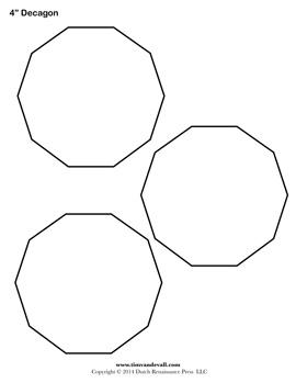 Decagon Sheet