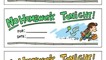 Homework pass template tims printables homework pass template maxwellsz