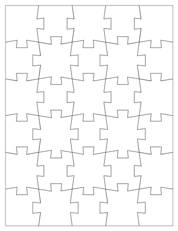 jigsaw puzzle template 30 pieces tim s printables