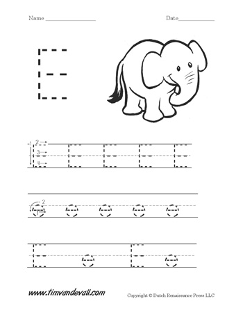 letter e worksheets preschool alphabet printables. Black Bedroom Furniture Sets. Home Design Ideas