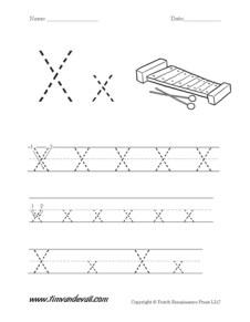 Letter-X-Worksheet-01