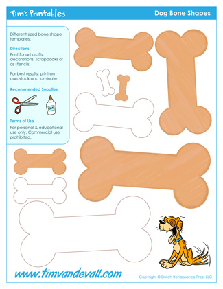 Dog Bone Templates