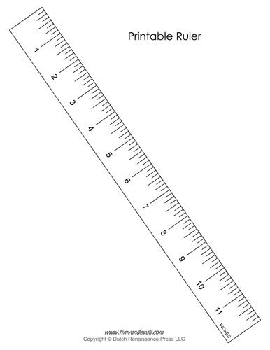 Printable Ruler PDF
