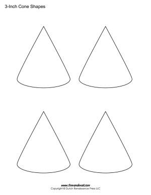 printable cone stencils