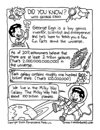 space facts for kids