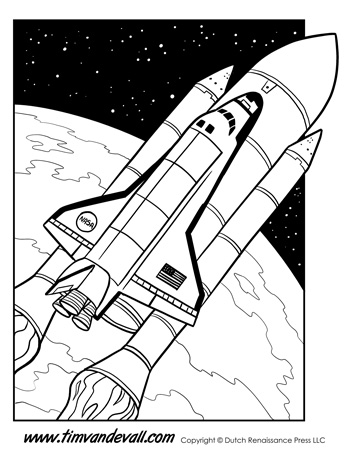 Space Shuttle Coloring Pages Spectacular Space Shuttle Coloring