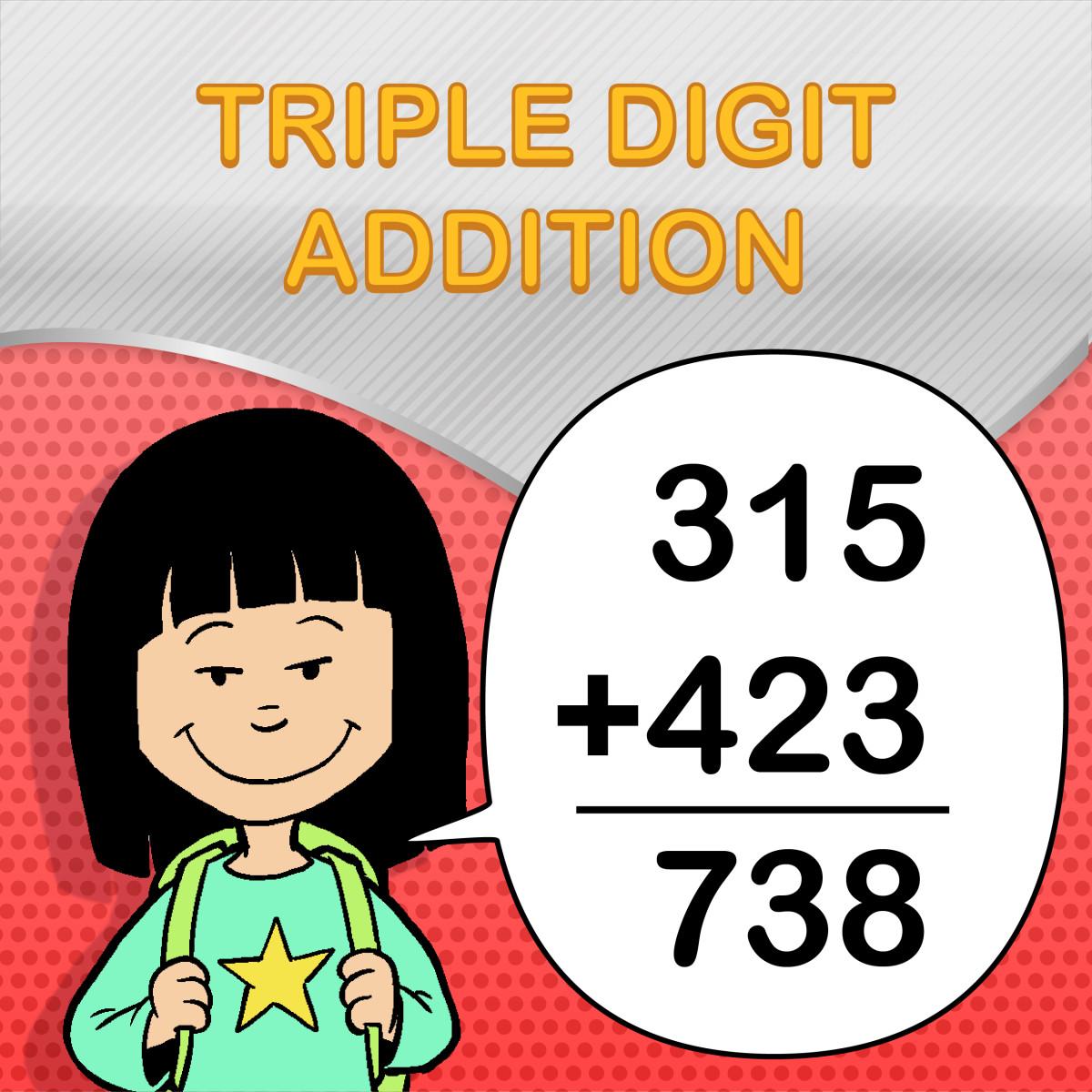 Triple Digit Addition Worksheets