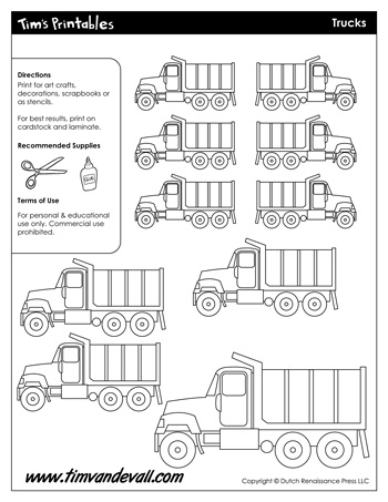 truck shapes