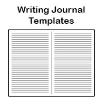 writing journal template