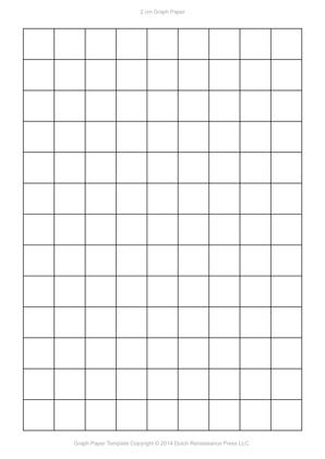 a4 graph paper template, 2cm