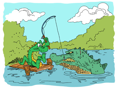 alligator facts for kids