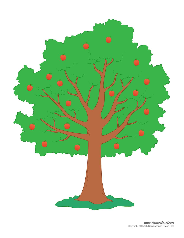 Tree Templates | Tree Printables