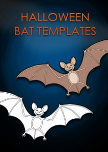 halloween bat templates