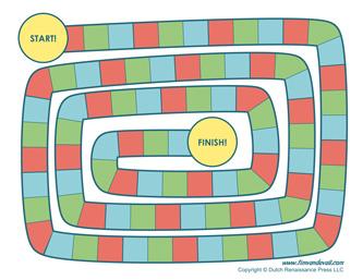 Blank Board Game