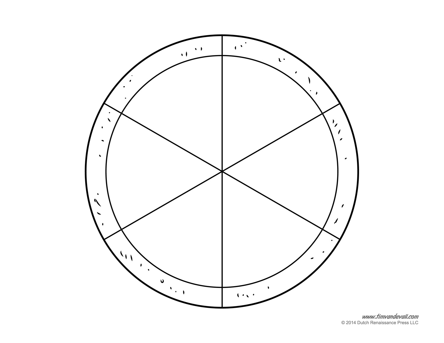 blank pizza template printable pizza craft for kids