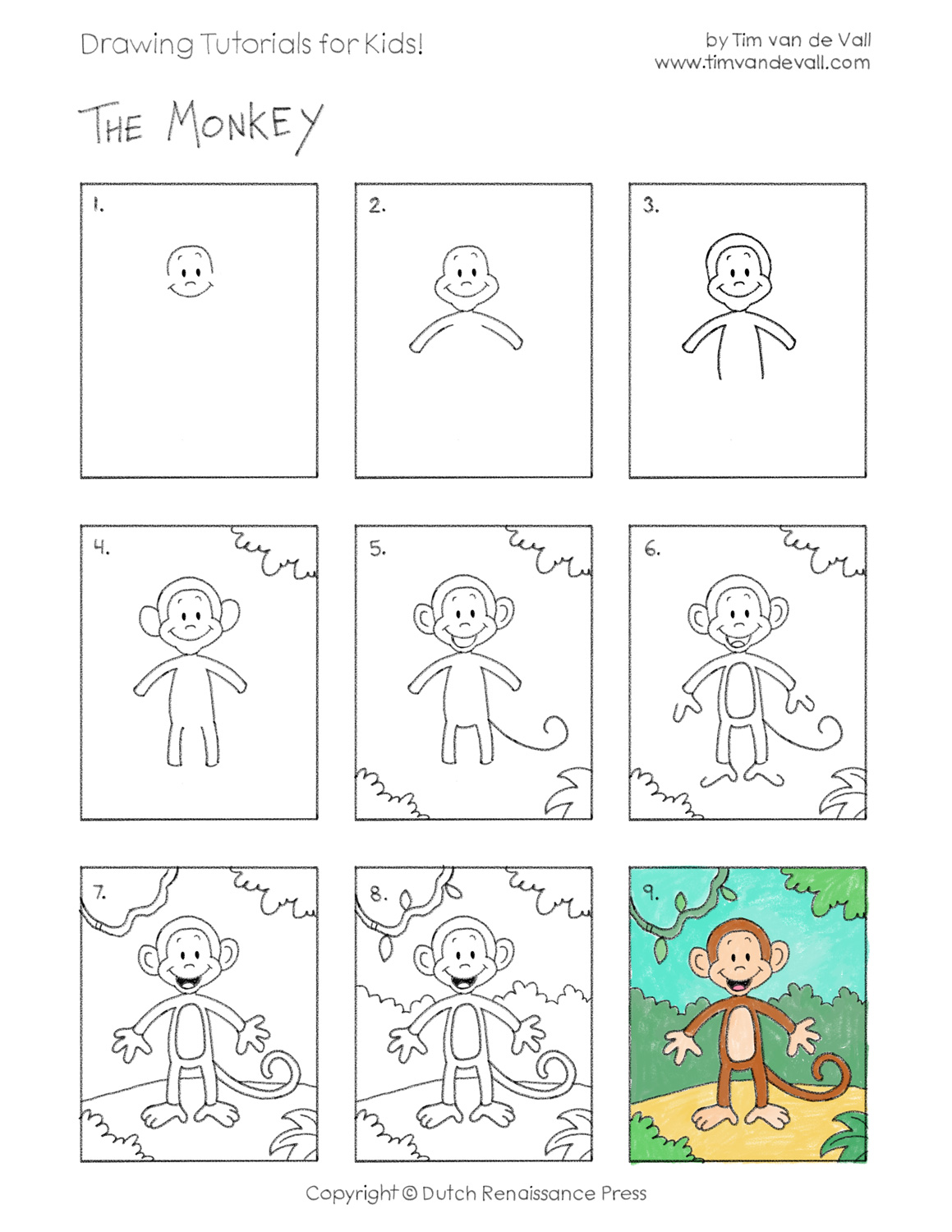 Easy Drawing Tutorials For Kids