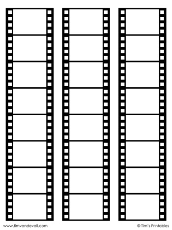 film-strip-templates