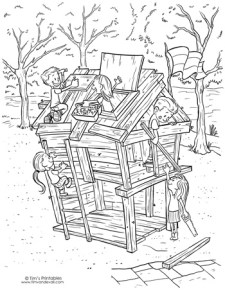fort-coloring-page