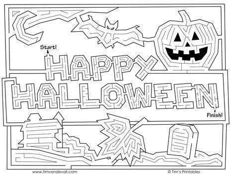 halloween-text-maze