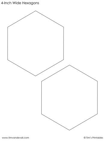 hexagon-templates-4-inch-wide