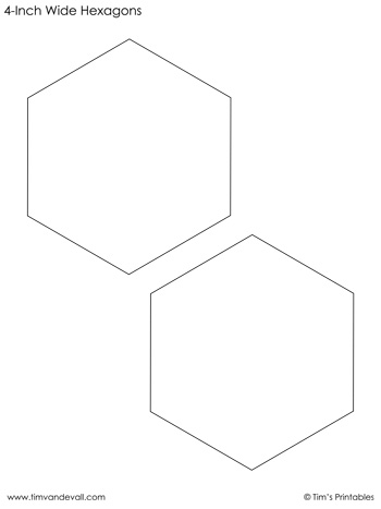 hexagon-templates-4-inch-wide