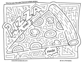 pizza maze
