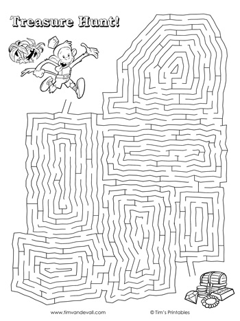 treasure-hunt-maze
