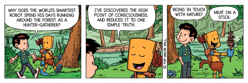 online comic strip