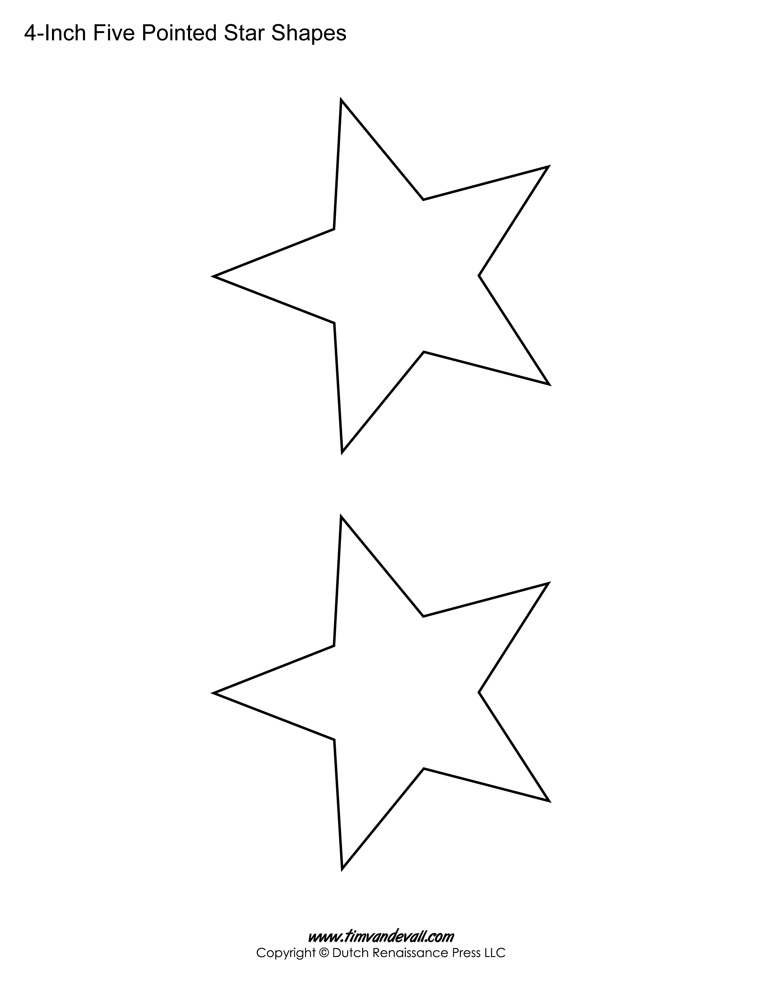 This is a picture of Star Outline Printable with regard to rounded