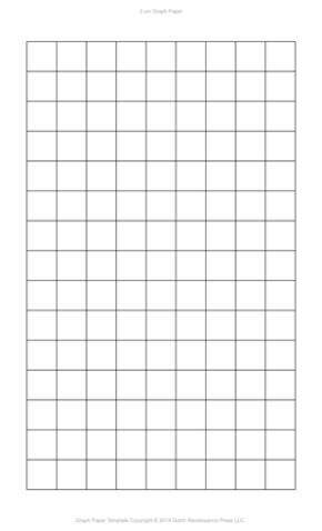 2 Centimeter Graph Paper, Legal PDF