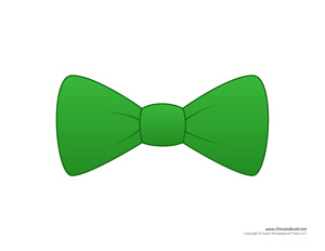 Green Bow Tie