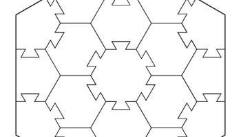 hexagon puzzle template tim s printables
