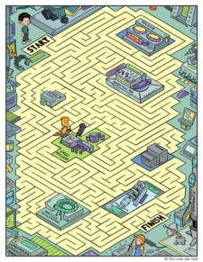 Ergo Lab Maze