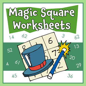 magic squares worksheets