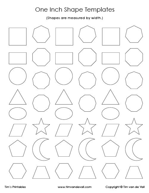 geometric shape templates archives tim s printables