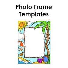 free photo frame templates make your own photo frame