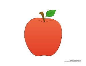 Preschool Apple Craft