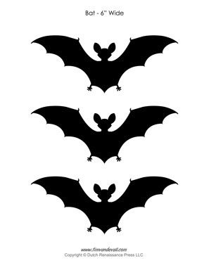 Printable Halloween Bats