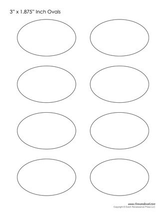 Obsessed image regarding printable oval template