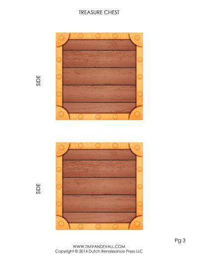 treasure chest template