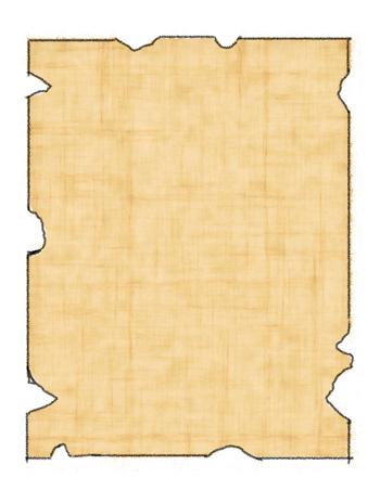Printable Treasure Map