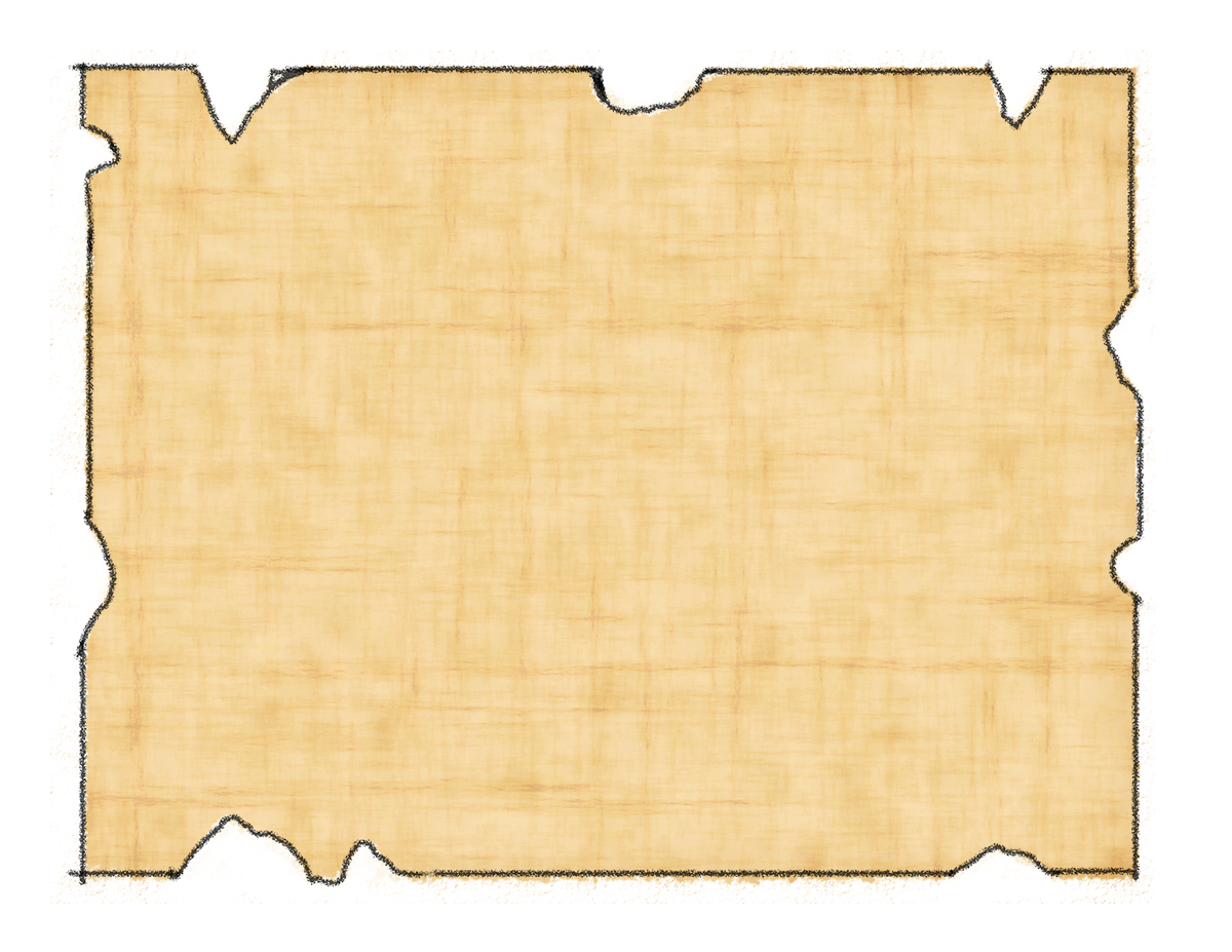 Blank Treasure Map 2