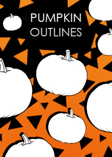 pumpkin outlines