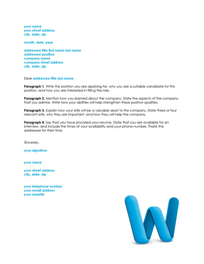Resume Cover Letter Examples - Get Free Sample Cover.