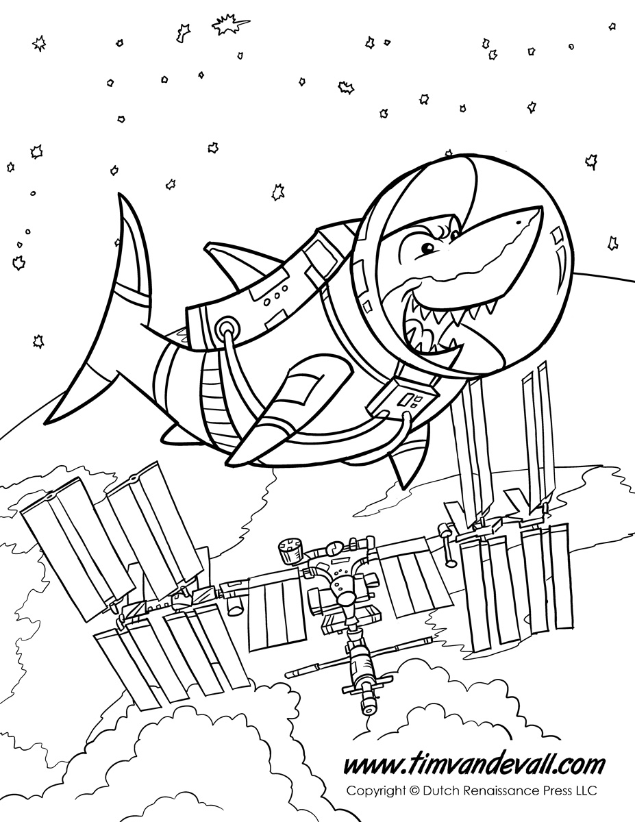 Shark In Space Tim