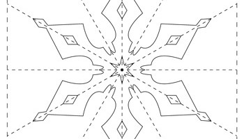 snowflake template 7 tim s printables
